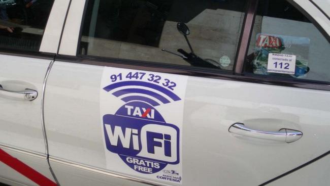 Taxi-WiFi-Madrid