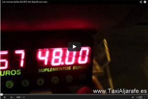 taximetro manipulable taxi aljarafe