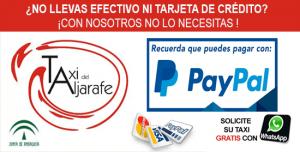 Taxi Aljarafe Paypal