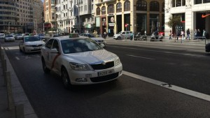 Taxis vagen