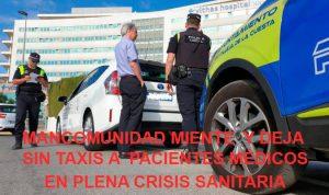 taxis- Mancomunidad miente